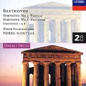 Beethoven: Symphonies 1, 3, 6 & 8 / Monteux, Vienna PO