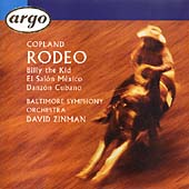 Copland: Rodeo, Billy the Kid, etc / Zinman, Baltimore SO