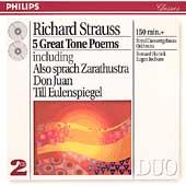 R. Strauss: 5 Great Tone Poems / Haitink, Concertgebouw
