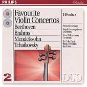 Favorite Violin Concertos / Arthur Grumiaux