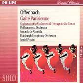 Offenbach: Gaite Parisienne, etc / de Almeida, Previn