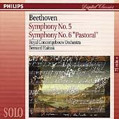 Beethoven: Symphonies nos 5 & 6 / Haitink, Royal CO
