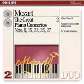 Mozart: The Great Piano Concertos Vol 2 / Brendel, Marriner