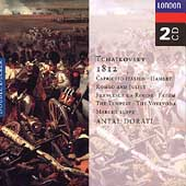 Tchaikovsky: 1812 Overture, Capriccio Italien, etc / Dorati