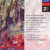 Rimsky-Korsakov: Scheherazade, etc / Ernest Ansermet