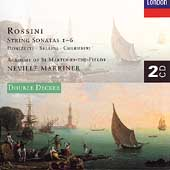 Rossini: String Sonatas 1-6;  Donizetti, et al / Marriner