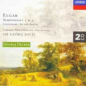Elgar: Symphonies 1 & 2, etc / Solti, London PO