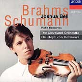 Brahms, Schumann: Violin Concertos / Bell, Dohnanyi et al