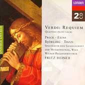 Verdi: Requiem, Quattro Pezzi Sacri / Reiner, Mehta, et al