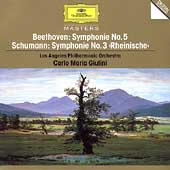 Beethoven, Schumann: Symphonies / Giulini