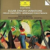 Elgar: Enigma Variations Op.36, Cello Concerto Op.85, Serenade Op.20 / Giuseppe Sinopoli(cond), Philharmonia Orchestra, Mischa Maisky(vc)