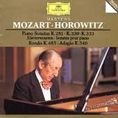 Mozart: Piano Sonatas No.3, No.10, No.13 / Vladimir Horowitz(p)