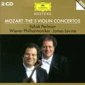 Mozart: 5 Violin Concertos, etc / Itzhak Perlman(vn), James Levine(cond), Vienna Philharmonic Orchestra