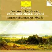 "Beethoven: Symphonies No.6 Op.68""Pastoral""(9/1986), No.8 Op.93 (2/1987)"