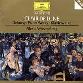 Clair De Lune -Debussy: Estampes, Etude No.11, Suite Bergamasque, etc / Alexis Weissenberg(p)