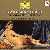 Rimsky-Korsakov: Schehrazade; Rachmaninov: The Isle of the Dead / Lorin Maazel(cond), Berlin Philharmonic Orchestra