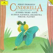 Prokofiev: Cinderella, Summer Night / Pletnev, Russian NO
