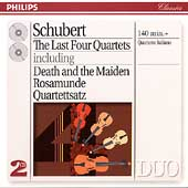 Schubert: Last Four Quartets