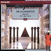 Mozart: Die Zauberfloete (excerpts) / Davis