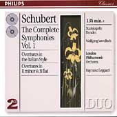 Schubert: Complete Symphonies Vol 1 / Sawallisch, Leppard