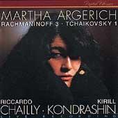 Rachmaninov, Tchaikovsky: Piano Concertos / Martha Argerich