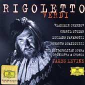 Verdi: Rigoletto / Levine, Chernov, Studer, Pavarotti, et al