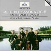 Pachelbel: Canon & Gigue, etc / Reinhard Goebel(cond), Musica Antiqua Koln