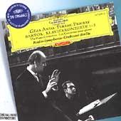 Bartok: The Piano Concertos No.1-No.3 (1959-60) / Geza Anda(p), Ferenc Fricsay(cond), Berlin Radio Symphony Orchestra