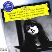 Martha Argerich -Debut Recital : Chopin, Brahms, Prokofiev, etc