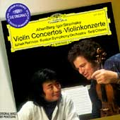 Berg: Violin Concerto (2/1978); Stravinsky: Violin Concerto (11/1978); Ravel: Tzigane (9/1986) / Itzhak Perlman(vn), Zubin Mehta(cond), BSO, etc