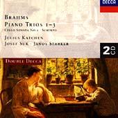 Brahms: Piano Trios Nos. 1 - 3, Cello Sonata No.2 / Julius Katchen, Janos Starker, Josef Suk