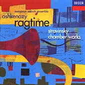Stravinsky: Ragtime, Octet etc / Vladimir Ashkenazy et al