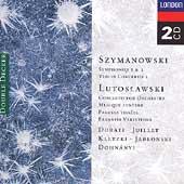 Szymanowski: Symphonies 2 & 3 etc;  Lutoslawski / Dorati