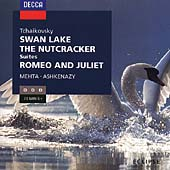 Tchaikovsky: Swan Lake, Nutcracker, Romeo & Juliet / Mehta, Ashkenazy
