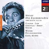 Mozart:Die Zauberflote/Karl Bohm, Hilde Gueden, Wilma Lipp, Leopold Simoneau