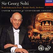 United Nations 50th Anniversary Concert / Sir Georg Solti