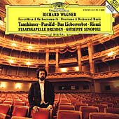 Wagner: Overtures & Orchestral Music / Sinopoli