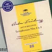 Bruckner: Symphonien nos 8 & 9 / Eugen Jochum