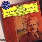 Janacek: Piano Works; Capriccio, Concertino / Rudolf Firkusny(p), Rafael Kubelik(p), Members of the Bavarian Radio Symphony Orchestra