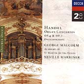 Handel: Organ Concertos, Opp 4 and 7