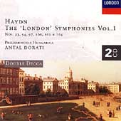 Haydn: The London Symphonies Vol 1 / Dorati, Philharmonia Hungarica