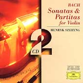 J.S.Bach: Sonatas & Partitas for Violin