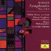 Mahler: Symphonies No.2 & 4