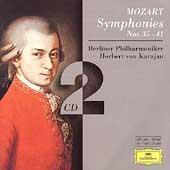 Mozart: Symphonies No.35-41 / Herbert von Karajan(cond), Berlin Philharmonic Orchestra