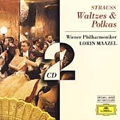 J.Strauss II: Waltzes & Polkas / Lorin Maazel(cond), Vienna Philharmonic Orchestra