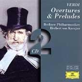 Verdi: Overtures & Preludes / Herbert von Karajan, Berlin Philharmonic Orchesetra