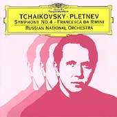 Tchaikovsky: Symphony no 4 / Pletnev