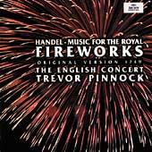 Handel: Music for the Royal Fireworks (1749 Version) / Trevor Pinnock(cond), English Concert