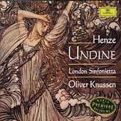 Henze: Undine / Knussen, London Sinfonietta, Donohoe