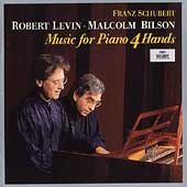 Schubert: Works For Piano Four Hands / Malcolm Bilson, Robert Levin